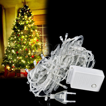 warm white leds white wire decorative serial lights for christmas wedding party indooroutdoor decoration - White Wire Christmas Tree