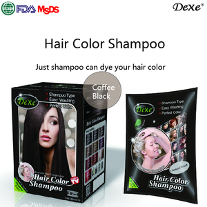 Easy to Use Time Saving No Ammonia Aloe Noni Shine Color Hair Shampoo