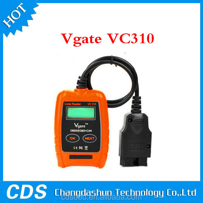 Vgate VC310 Compact Universal ODB2 Auto Scanner Code Reader Car Diagnostic Tool low cost