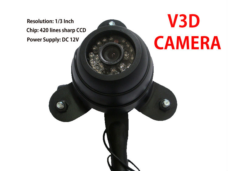 Favorites Compare Under Vehicle Mirror TEC-V3D With DVR & Infrared Function Under Car Mirror