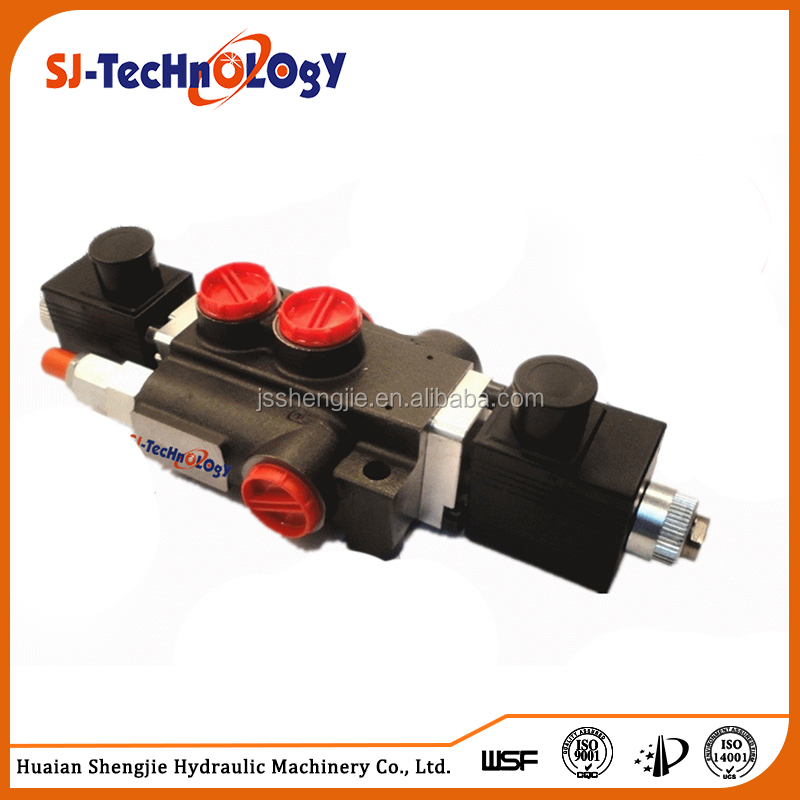 SJYY-213 hydraulic oil middle-high pressure hydraulic monoblock directional control valve for forklift