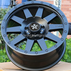 1 pc customized forged alloy wheels for SUV 5*127 5*150 5*139.7 6*139.7 8*170 by 4*4 Off-road car rim