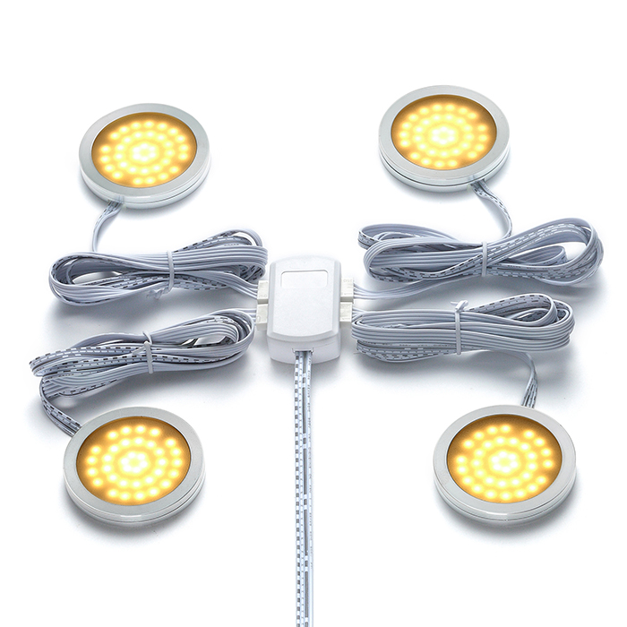 5050smd 2in1 Cct Adjustable Color Temperature 3w Led Puck