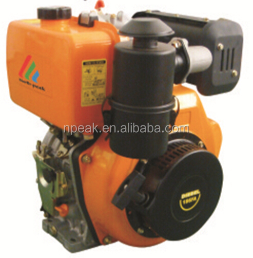 low price portable 1500 rpm 7.7 hp electric manual 186s diesel engine