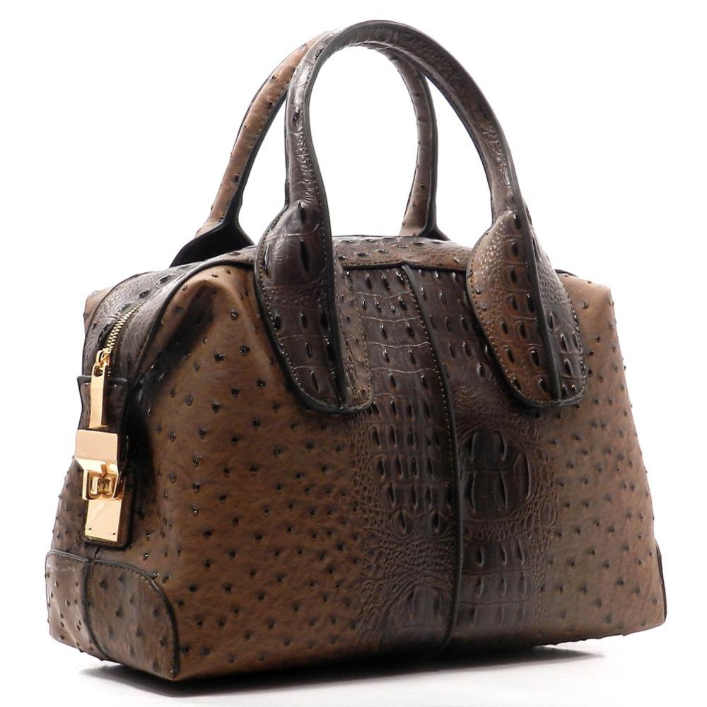 ed7ca84f695 2016 Trending Croc Ostrich Top Handle Satchel Bags Designer Handbags Cheap  Fall Lady Handbags - Buy Designer Handbag,Bags Handbag,Lady Handbag Product  ...