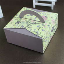 custom luxury moon cakes box paper packaging product gift box cardboard for wedding birthday