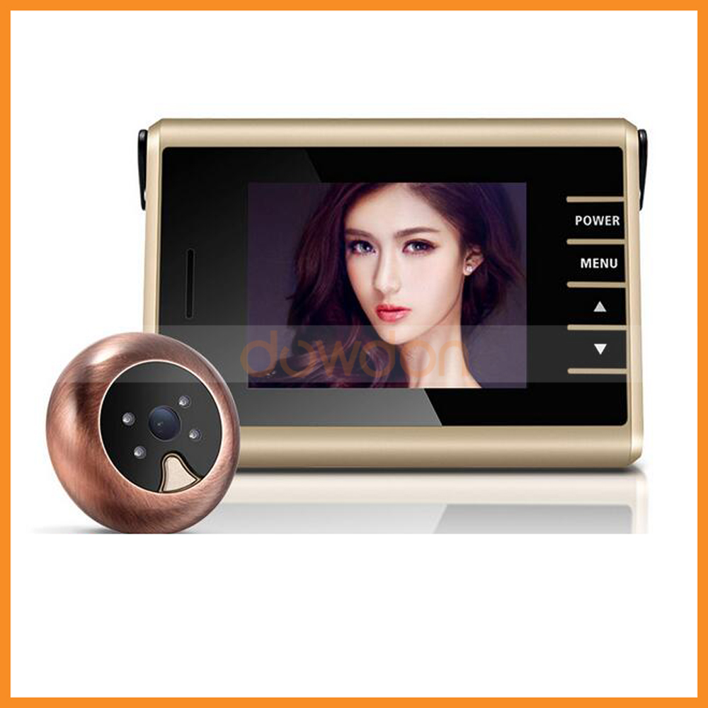 Wireless Door Viewer Peephole Camera 0.3 Mega Don`t Disturb IR Door Camera