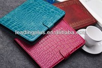 Factory Price High Quality Mix Color Crocodile Design PU Leather Case for iPad Mini2