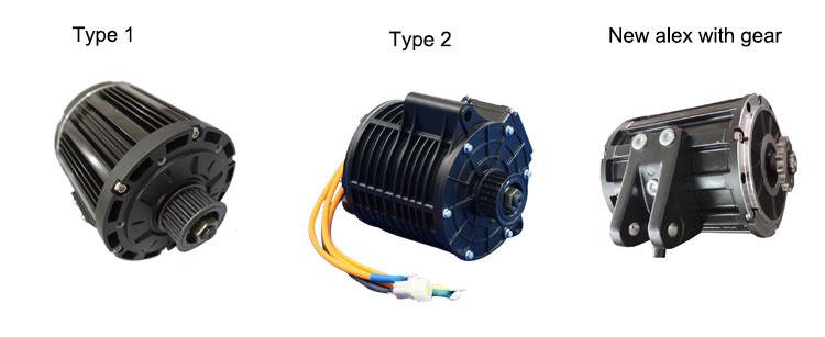 QSMOTOR 138 3000W 70H BLDC Motor and Votol Controller EM