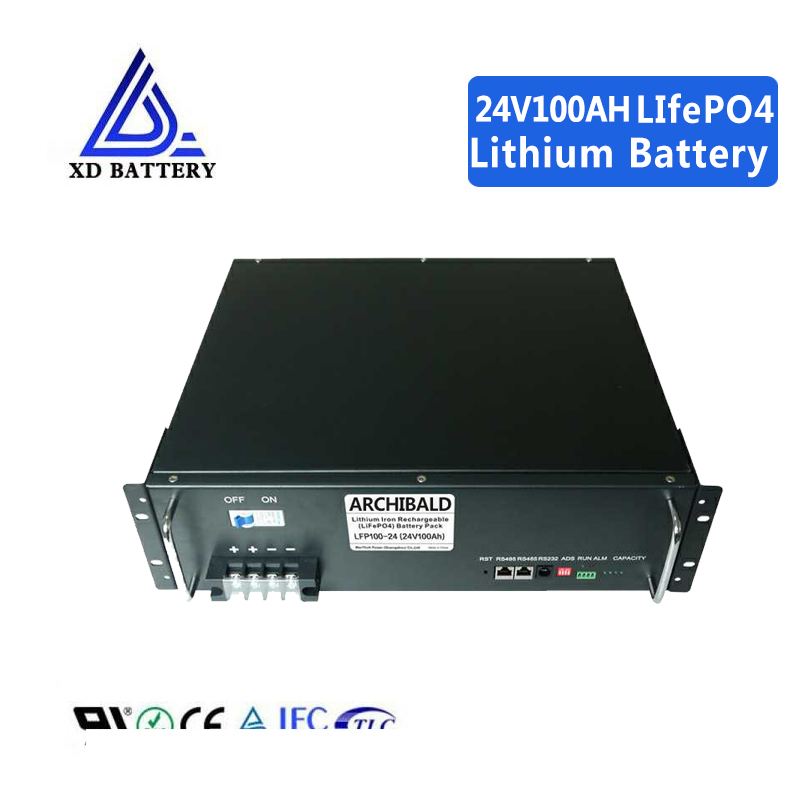 BMS Lipo Akku Ni CD 100ah 24 V Lithium Ion LiFePO4 Battery Pack Akku