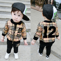 China Kid Boy Sport Suits Cotton Frock Designer Print Child Clothes For Wholesale