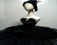 New Ballet design black ballet feather skirt ballet tutu dress of women Black swan performs TUTU 2018-New-28