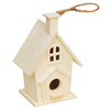 Natural handmade DIY new style hot sale custom wooden bird house