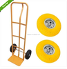 "YELLOW TYRE STEEL RIM SOLID RUBBER 10"" WHEEL FOR SACK TRUCK TROLLEY CART"
