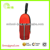 High Quality Factory red pu leather bottle cover