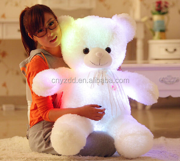 Light Up Teddy Bear Plush Toy/cute And Cheap Plush Bear/stuffed ...