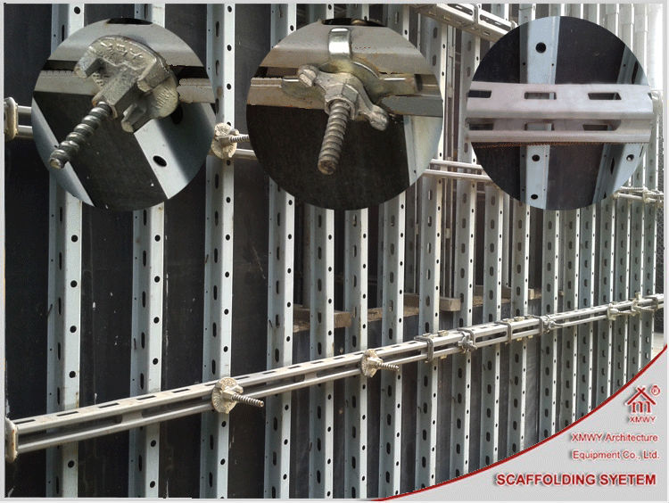 Strong Steel Wall Column Formwork For Construction In China