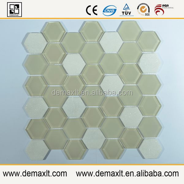 Hexagonal Mosaic Tile Mold plastic mosaic tray for glass mosaic tiles