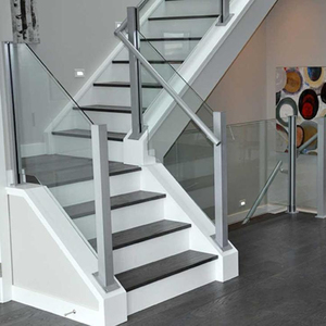 Low Cost Glass Stair Railing Kits For Spiral Staircase Indoor Design