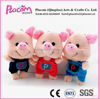 Special Mini Creative Favrite promotional gift Wholesale Cheap plush toys pig