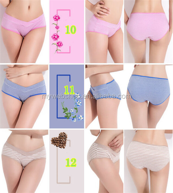 Low Waist Pregnant Underwear Maternity Seamless Belly Panty