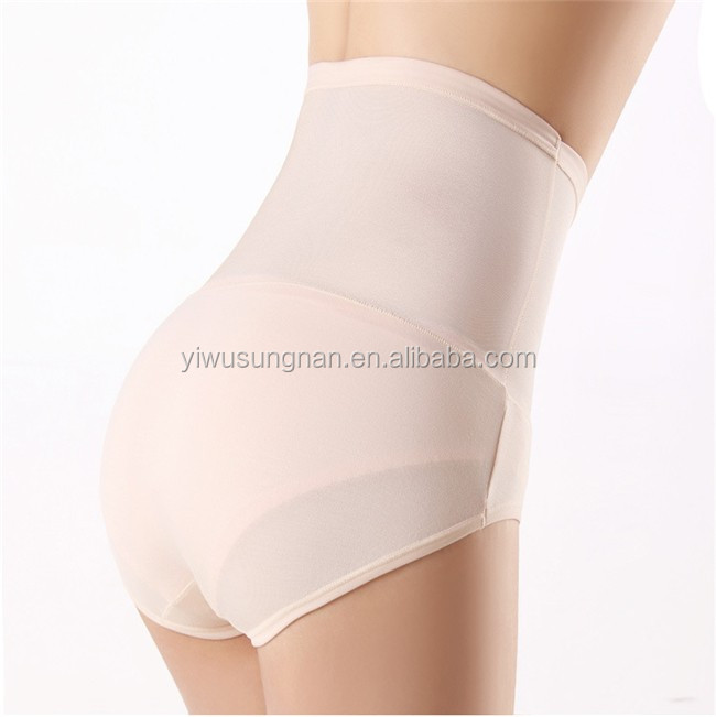 Best Design Carry Buttock Shaping Plastic Yarn Transparent Panties