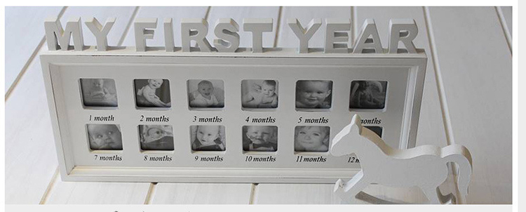 My First Year Baby Photo Frames For Home And Garden Decoration Buy