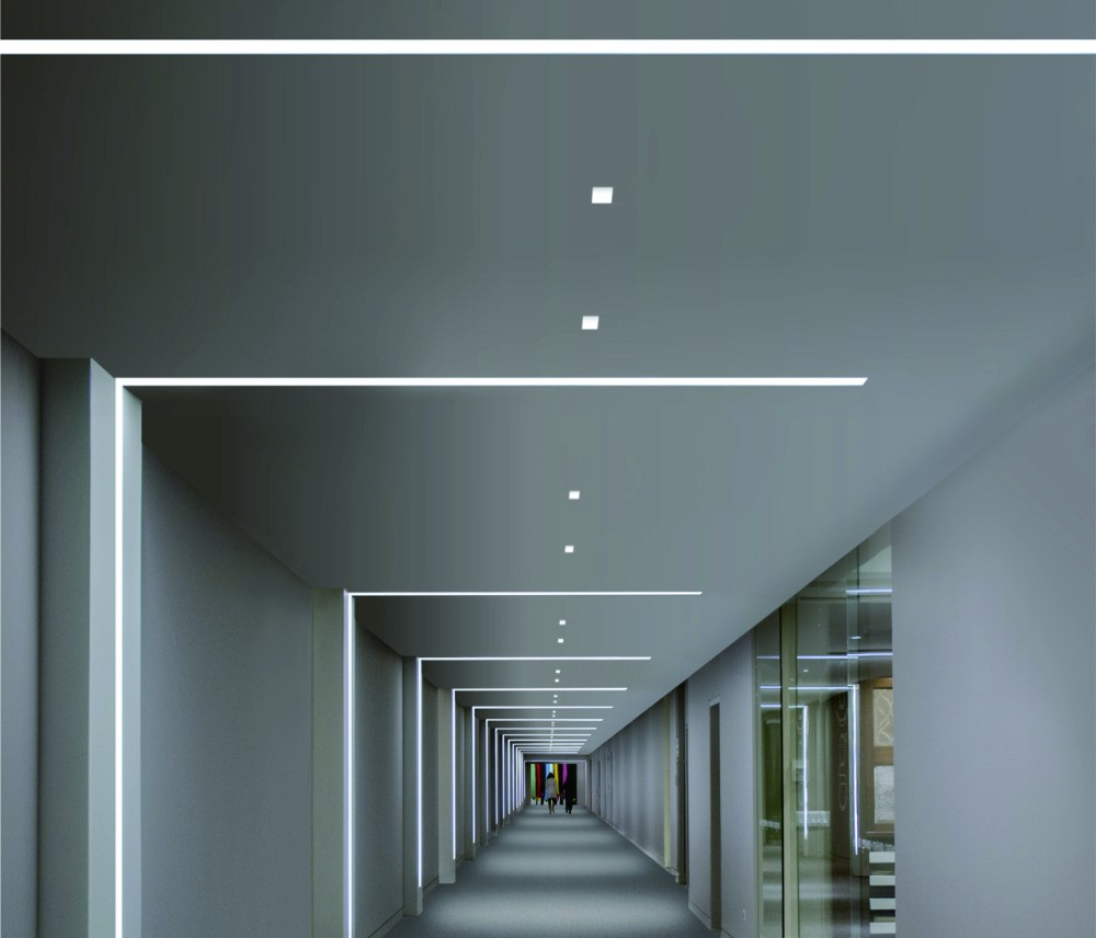 Dubbele-side Shine Inbouw Led Aluminium Profiel Voor Trappen Of ...