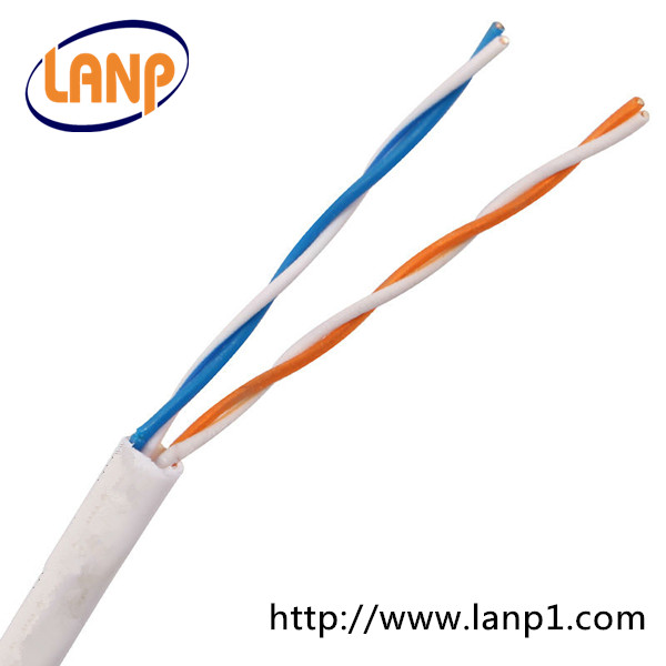 2 Pair Telephone Cable With Color Code Pe 0.4mm 0.5mm Specifications ...