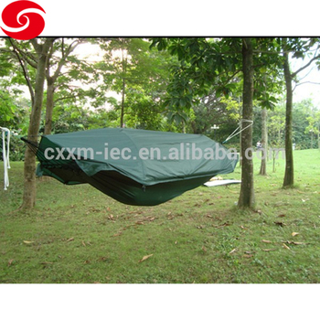 one person military hammock tent with mosquito net