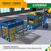 China QT10-15 fully automatic concrete brick block making machine price