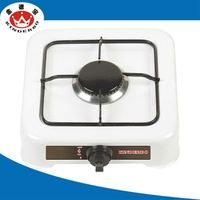 1 burner Stainless Steel gas cooker hood and hob