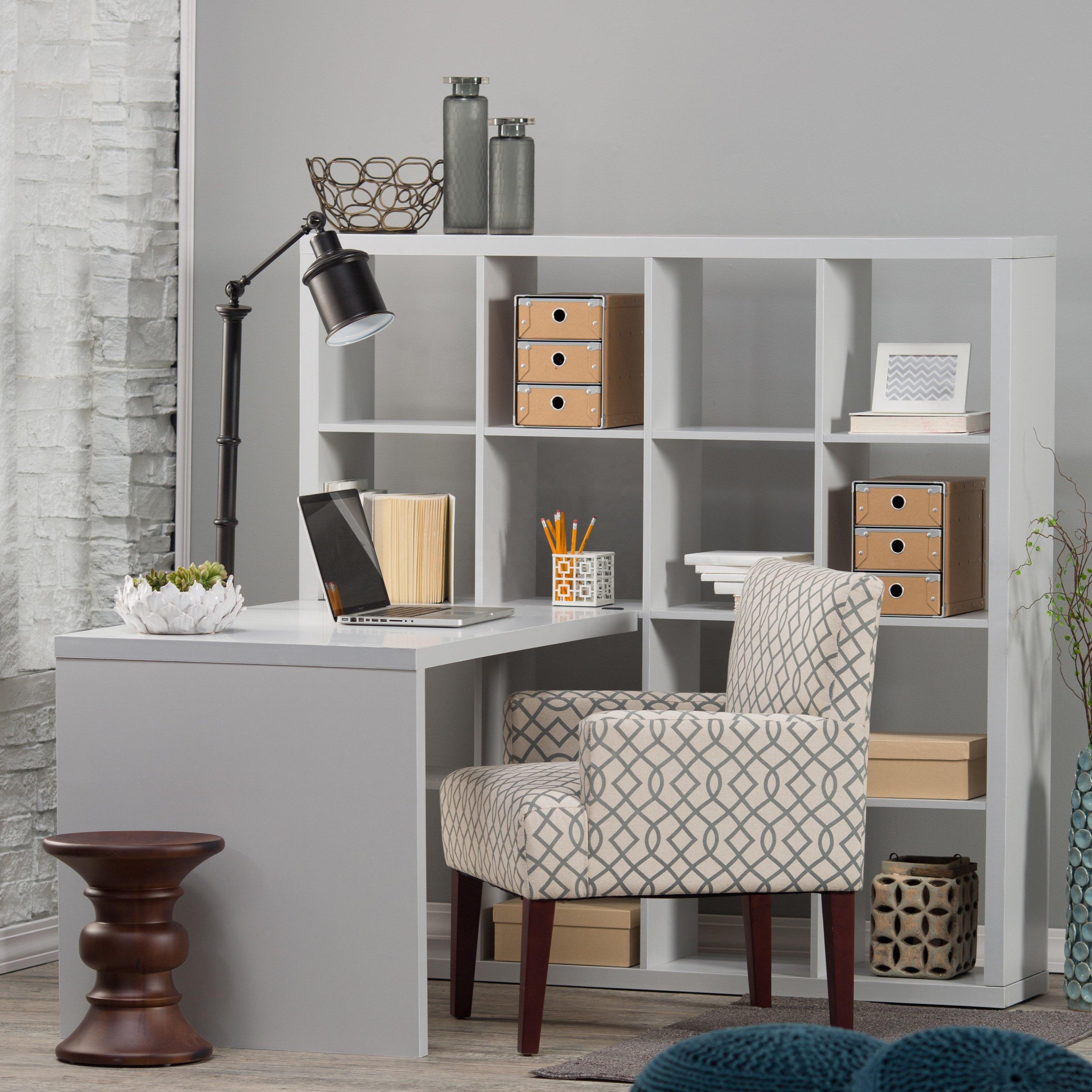 Shelves And Office Desk