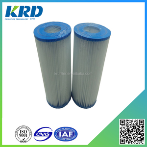 Banded Pleats Swimming Pool Water Spa Filter Cartridge