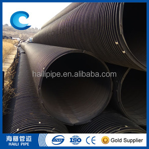 landscape metal outdoor waste water drainage pipe with fittings
