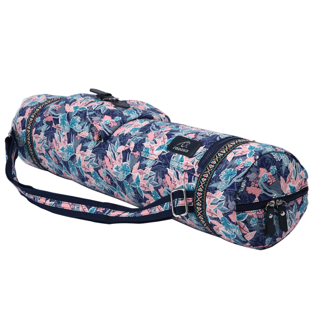 Useful Sgodde 16x75cm Yoga Bag Waterproof Canvas Outdoor Fitness Sports Handbag Multi-function Bag Sport Exercise Gym Fitness Yoga Mats Ropa, Calzado Y Complementos