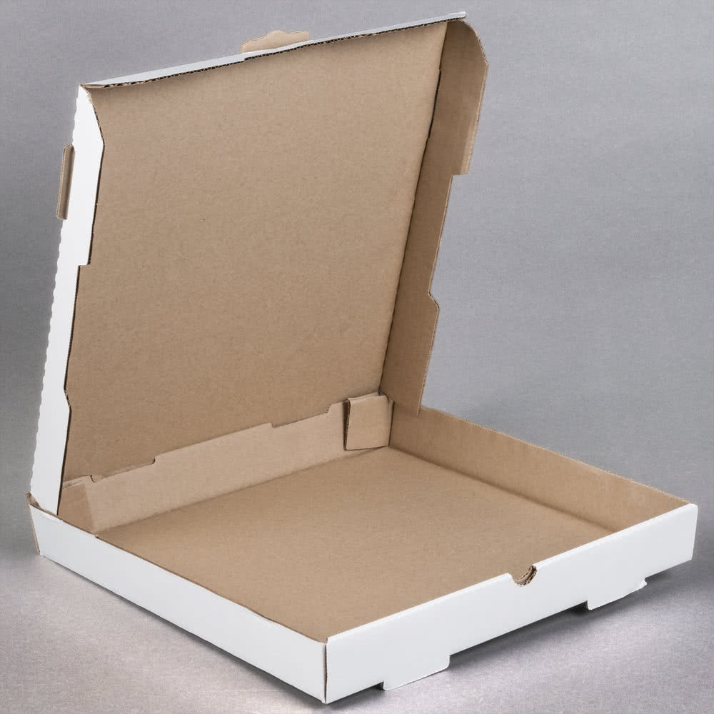 Portable Custom Printed Corrugated Paper Pizza Boxes Wholesale