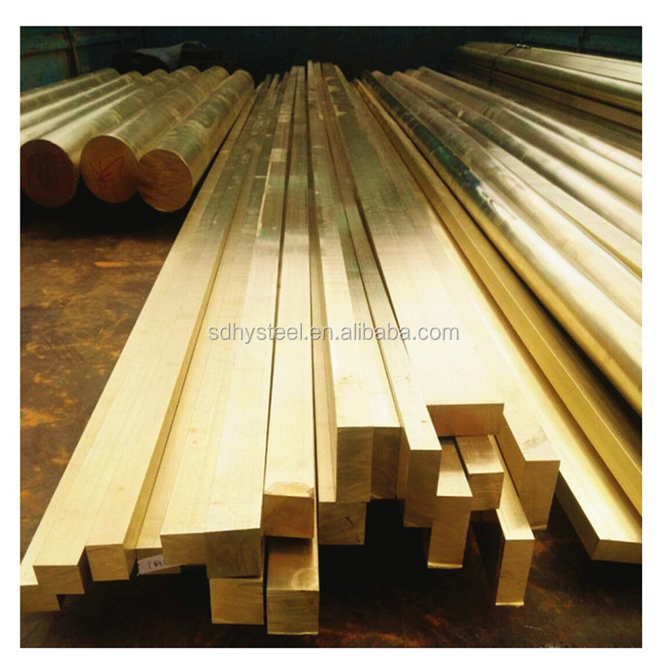 ASTM Extrusion Purity and alloy Brass Rod / Brass Bar