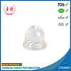Garden tool parts small oil cup, rubber primer bulb parts