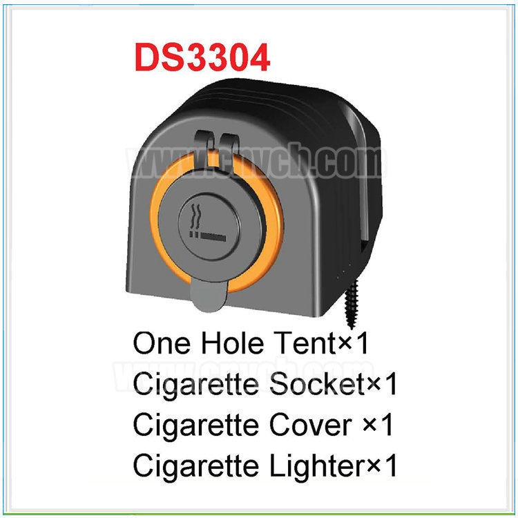 MD19 HOT SEAL Marine Cigarette Lighter 12V DC Auto Motorcycle Trucks for Motorbike boat Socket with tent