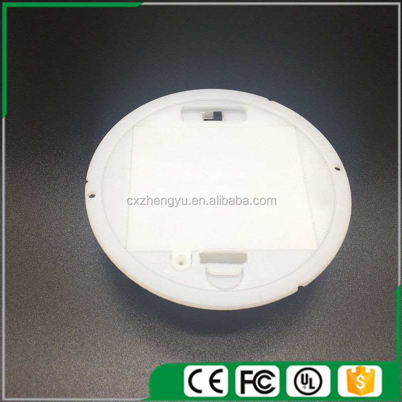 Round battery holder, 3 aa round battery holder with Cover and Switch(Color: White)