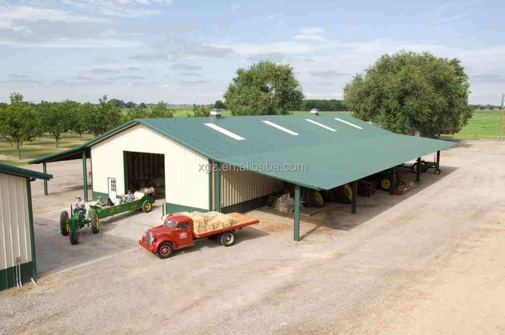 prefab farming metal storage sheds