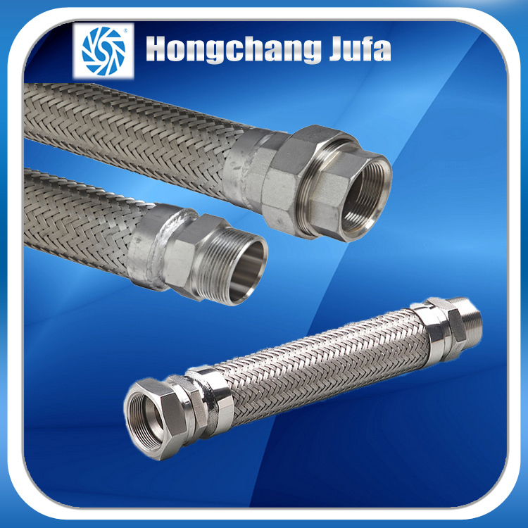 High Pressure 1 Inch Stainless Steel Flexible Steam Hose