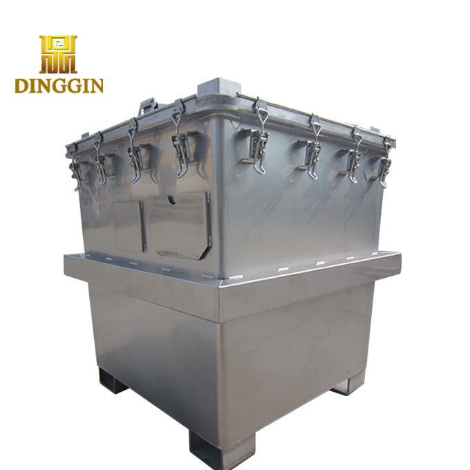 FACTORY DIRECT 1000 1500 2000 LITERS STAINLESS STEEL IBC TOTE TANK