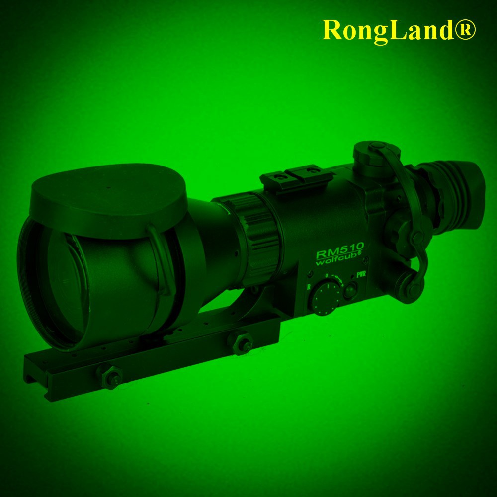 5x night vision optical sight, scope night vision for hunter use with IR