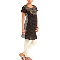 Lastest Kurti Designs Maternity Wear Polka Dot Pregnancy Dresses