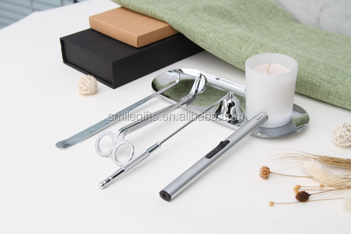 Stainless Steel Wick Trimmer/Snuffer/Dipper Candle Wick Scissors