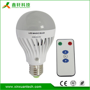 Hot sales B22/E27 battery backup 7W led remote control emergency lamp
