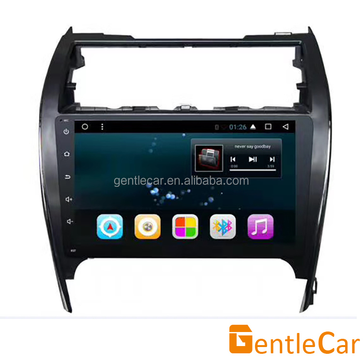 Android 7.1 touch screen car audio stereo radio GPS multimedia system no DVD for <strong>USA</strong> Camry