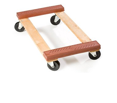 machinery wooden moving dolly cart WD006